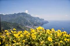Ravello - Amalfi Coast. Landscape of the Amalfi Coast view from Ravello royalty free stock images