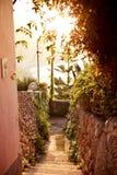 Ravello, Amalfi wybrzeże, Włochy. Zdjęcia Stock