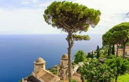 Ravello auf Amalfi-Küste, Italien Lizenzfreies Stockfoto
