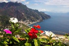 Ravello auf Amalfi-Küste in Kampanien in Italien Lizenzfreie Stockfotos