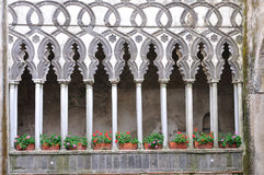 Ravello - casa de campo Rufolo, costa de Amalfi, Italia fotografia de stock royalty free