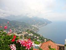 Ravello, costa de Amalfi, Italia Foto de archivo