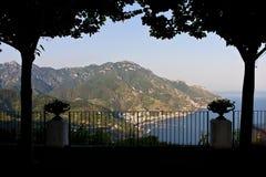 Ravello - costa di Amalfi Fotografia Stock