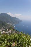 Ravello - costa di Amalfi Immagine Stock