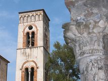 Ravello il belltower Fotografia Stock Libera da Diritti