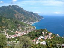Ravello Italie Photo stock