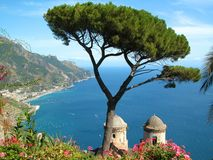 Ravello Rufolo Foto de Stock Royalty Free