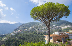 Ravello, A Scenic Hill Town Along the Amalfi Coast Royalty Free Stock Photos