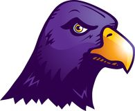 Raven royalty free illustration
