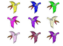 Raven. Images libres de droits