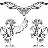 Raven - amministratore Illustrazione di Stock