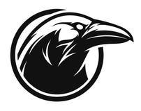 Free Raven Black And White Emblem Stock Photos - 173585243