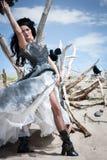 Raven Godess immagini stock libere da diritti