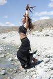 Raven Sorceress Stock Image
