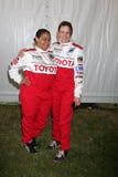 Raven-Symone et Mary Lynn Rajskub Images libres de droits