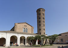 Ravenna Basilica of Saint Apollinare Nuovo Stock Photography