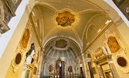 Ravenna Basilica of Saint Apollinare Nuovo Stock Images