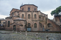 Ravenna, Basilica of san vitale Stock Image