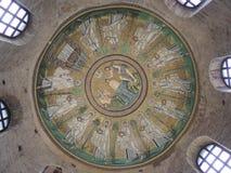 Ravenna, Battistero - Zdjęcia Royalty Free