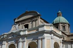 Ravenna cathedral facade Royalty Free Stock Photos