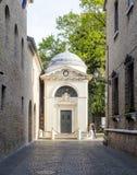 Ravenna Emilia Romagna Italia Europa la tomba del poeta Dante Alighieri fotografia stock libera da diritti