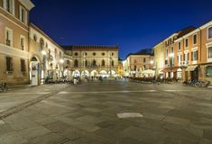 Ravenna emilia romagna Italy europe square of the people Royalty Free Stock Photos