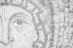 Ravenna Italien - gamla bysantinska mosaiker för 18 AUGUSTI, 2015 - 1500 år från UNESCO listade basilikan av helgonet Vitalis i R royaltyfri illustrationer