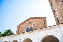 Ravenna, Italien - 7. Juli 2016 - Basilika von San Vitale Lizenzfreie Stockfotos