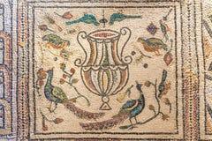 Ravenna, Italien - 7. Juli 2016 - Mosaik-Byzantiner Lizenzfreies Stockfoto