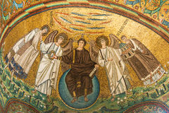 Ravenna, Italien - 7. Juli 2016 - Mosaik-Byzantiner Stockfotografie