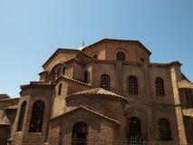 Ravenna-Italy. Basilica of San Vitale in Ravenna,Italy Stock Photography