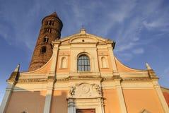 Ravenna - kyrka av San Giovanni Battista Royaltyfri Bild