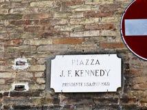 Ravenna-Marktplatz Kennedy stockbilder