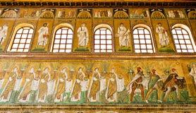 Ravenna Mosaics of Saint Apollinare Nuovo Royalty Free Stock Photos