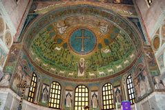 Ravenna ,old Byzantine mosaics Stock Photos