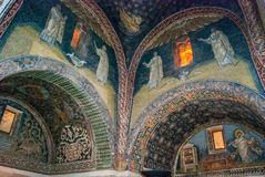 Ravenna ,old Byzantine mosaics Royalty Free Stock Images