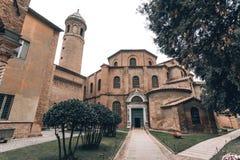 Ravenna San Vitale church. stock photos
