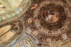 Ravenna san vitale dome Stock Photography