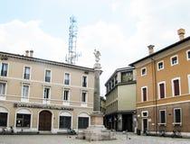 Ravenna-Stadtanblick, -straßen und -gebäude von Ravenna-Stadt stockfoto