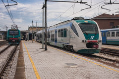 Ravenna Trenitalia Royalty Free Stock Photos