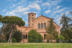 Ravenna, Włochy: bazylika Sant ` Apollinare w Classe Zdjęcia Royalty Free