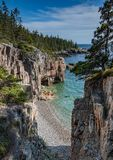 Ravens Nest in Maine. Ravens nest in Acadia National Park, Maine royalty free stock photography