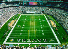 Ravens Stadium, Baltimore, MD. Vintage look at Raven's Stadium, Baltimore, Maryland. (Image taken from slide royalty free stock photography