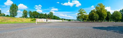 Ravensbruck Concentration Camp Stock Photo