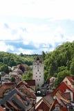 Ravensburg è una città in Germania fotografia stock