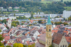 Ravensburgstad Stock Afbeelding