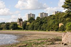 Ravenscraig Castle, Kircaldy, Fife, Scotland, UK Royalty Free Stock Photo