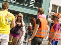 Ravers en el Love Parade 2010 Foto de archivo libre de regalías