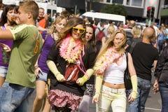 Ravers en el Love Parade 2010 Fotografía de archivo libre de regalías