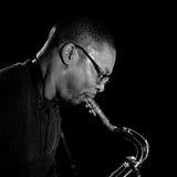 Ravi Coltrane 2009. Les Mureaux Royalty Free Stock Image